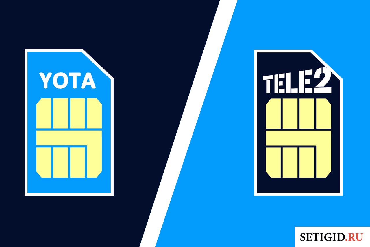 Как перевести деньги с Теле2 на Yota?