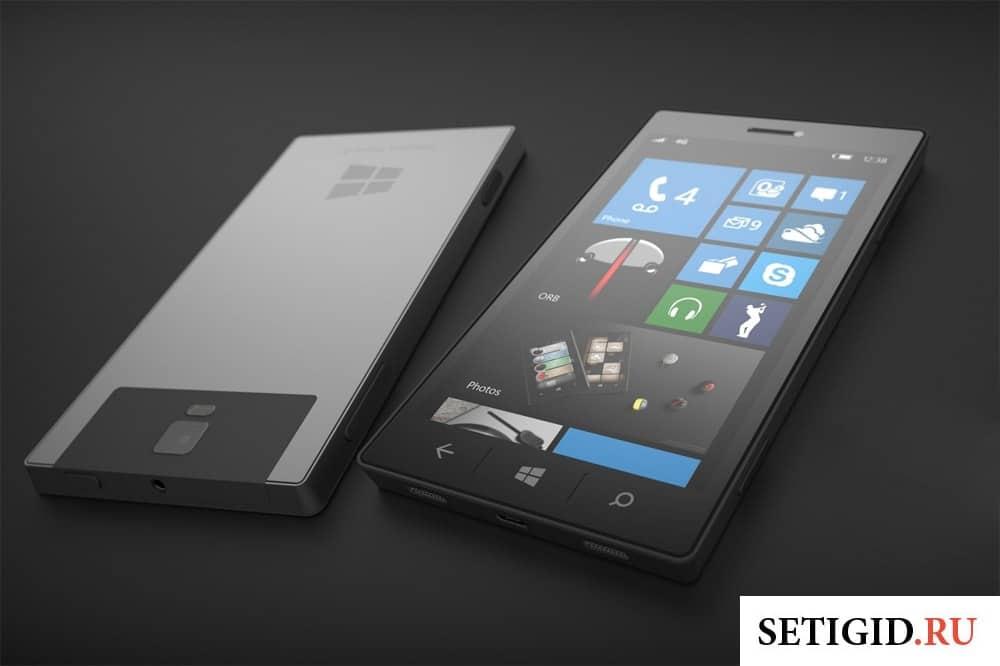 мобильный телефон с операционной системой Windows