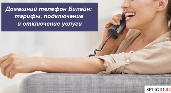 Домашний телефон Билайн