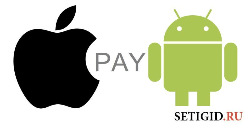 Иконки Google Pay и Apple Pay