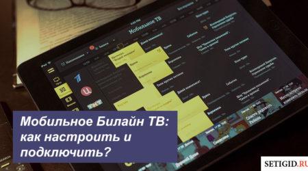 Мобильное Билайн ТВ