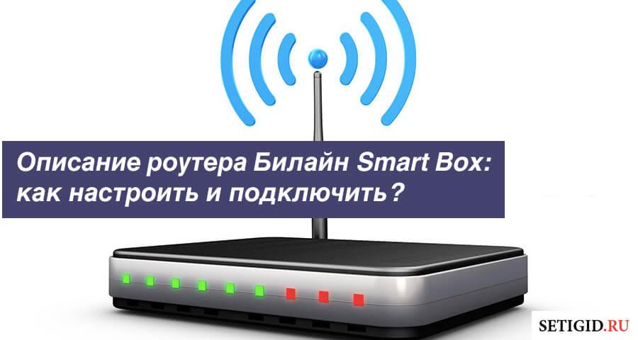 Описание роутера Билайн Smart Box