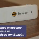 Увеличение скорости интернета на USB-модеме от Билайн с помощью антенны