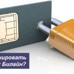 Как заблокировать SIM-карту Билайн самостоятельно или с помощью оператора?