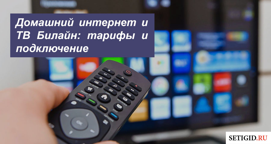 Домашний интернет и ТВ Билайн