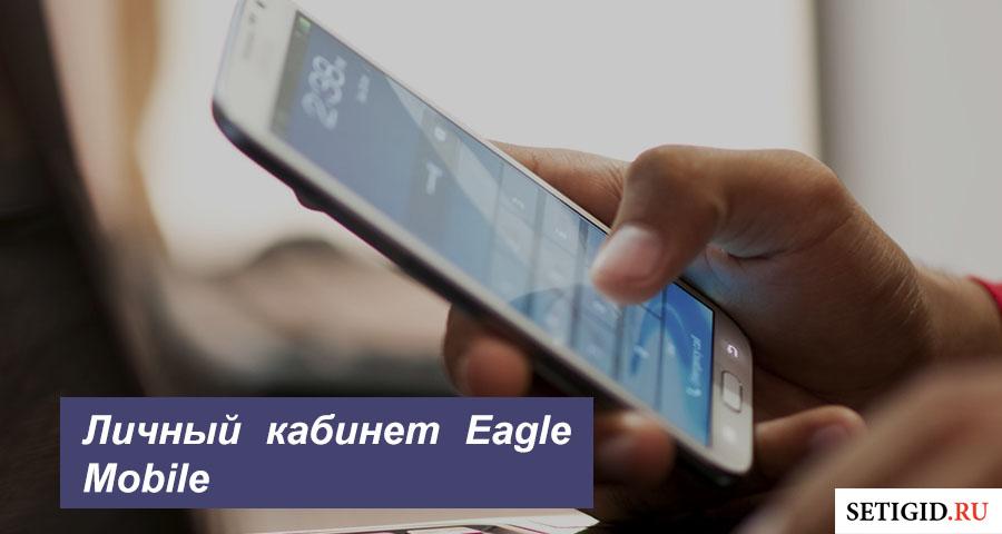 Личный кабинет Eagle Mobile