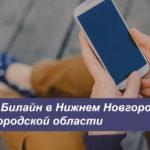 Описание выгодных тарифных планов Билайн в Нижнем Новгороде и Нижегородской области для телефона, планшета и модема