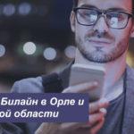 Описание действующих тарифов Билайн в Орле и Орловской области для смартфона, планшета и модема