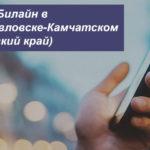 Описание тарифных планов Билайн в Петропавловске-Камчатском (Камчатский край) для мобильного телефона, планшета и модема