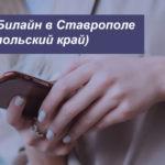 Описание актуальных тарифов Билайн в Ставрополе (Ставропольский край) для смартфона, планшета и ноутбука