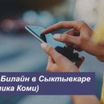 Описание тарифов Билайн в Сыктывкаре (Республика Коми) для смартфона, планшета и ноутбука