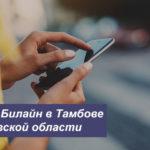 Описание новых тарифных планов Билайн в Тамбове и Тамбовской области для мобильного телефона, планшета и модема