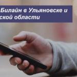 Описание действующих тарифов Билайн в Ульяновске и Ульяновской области для телефона, планшета и ноутбука