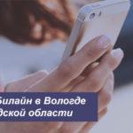 Описание выгодных тарифов Билайн в Вологде и Вологодской области для телефона, планшета и модема