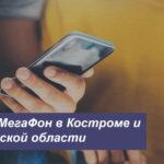 Описание тарифов MegaFon в Костроме и Костромской области для телефона, планшета и модема
